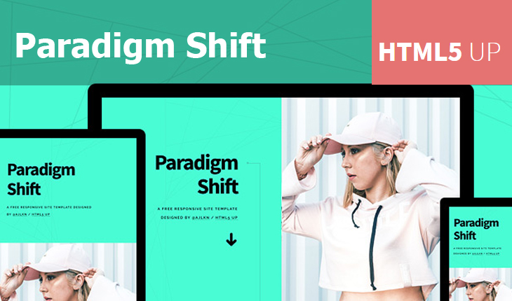 Paradigm Shift Free HTML Template